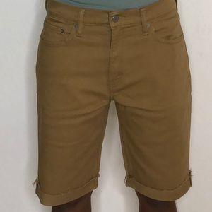 Khaki Levi shorts